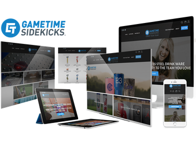 Gametime Sidekicks Custom Website Development